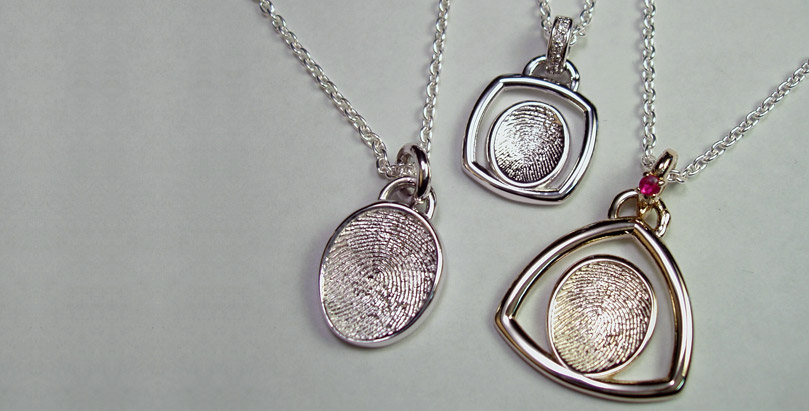 First Impressions 174 Fingerprint Jewelry Is Made From The
