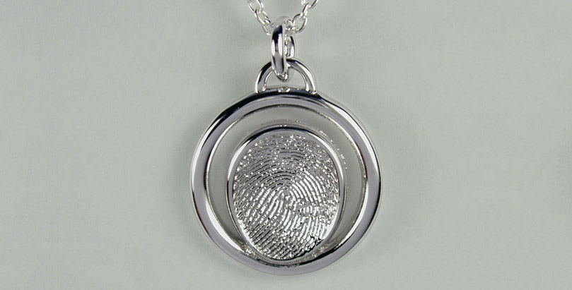 Fingerprint Jewelry By First Impressions Of First Impressions Fingerprint Jewelry Is Made From The